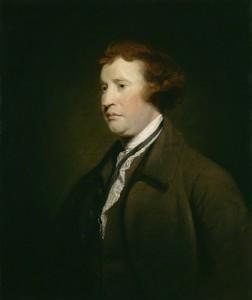 Portrait von Edmund Burke von Sir Joshua Reynolds
