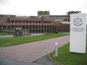 Der Europäische Gerichtshof in Brüssel