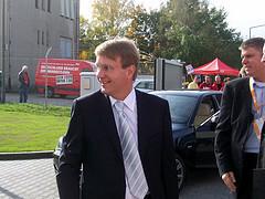 CDU-Generalsekretär Ronald Pofalla trifft ein. von daveshine Quelle: Flickr