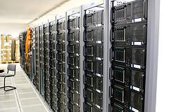 Raum voller Server